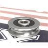 6mm Bore Bearing with 30mm Stainless Steel Pulley U Groove Track Roller Bearing 6x30x8mm
