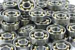100 Skate Bearing Nylon Cage Open Ball Bearings
