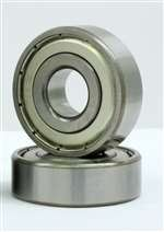 2 Ceramic Bearing 4x8x3 Stainless Steel Shielded Miniature