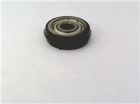 4mm Bore Bearing with 14mm Plastic Tire 4x14x4mm