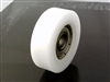 5mm Bore Bearing with 17mm White Plastic Tire 5x17x6mm