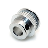 6.35mm Bore Aluminum Timing Pulley 2mm Pitch 20 Teeth 6mm Wide Belt Groove for 3D printer GT2