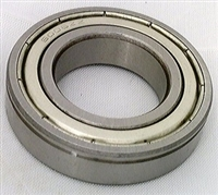 6301ZZN Shielded Bearing with snap ring groove 12x37x12