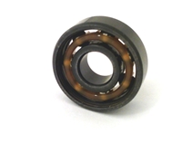 Set of 8  608B Skateboard Chrome Steel Open Ball bearing with Nylon Cage 8x22x7mm