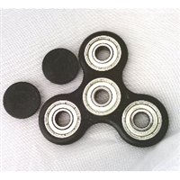 Fidget Hand Spinners Toy Black 608zz bearings