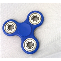 Fidget Hand Spinners Toy Blue 608zz bearings