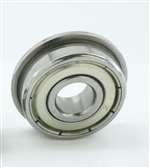 DDRF1140ZZ Flanged Bearing Shielded Stainless Steel 4x11x4