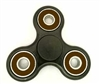 Fidget Hand SpinnersToy with Center Ceramic Bearing, 2 caps and 3 outer brown Bearings