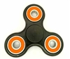 Fidget Hand SpinnersToy with Center Ceramic Bearing, 2 caps and 3 outer orange Bearings