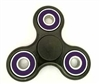 Fidget Hand SpinnersToy with Center Ceramic Bearing, 2 caps and 3 outer purple Bearings