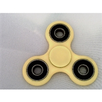 Yellow Fidget Hand Spinner Toy