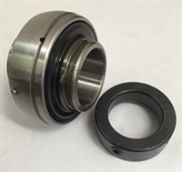 HC201 12mm Bearing insert with eccentric collar