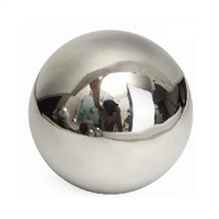 Ornament Decoration LOOSE 80mm Stainless Steel  304C Hollow Ball Mirror Finished Shiny