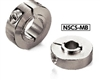 NSCS-25-15-MB3 NBK Set Collar - For Securing Bearing - Clamping Type. Made in Japan