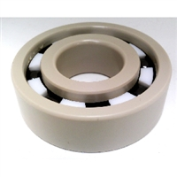 PEEK 6902 Ball Bearing PTFE cage Si3N4 Ceramic