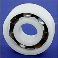 Plastic Bearing POM 6809 Glass Balls 45x58x7mm