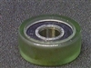 PU6x18x7-2RS Polyurethane Rubber Bearing 6x18x7mm Sealed Miniature