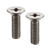 SNFT-M3-8 NBK Cross Recessed Flat Head Machine Screws - Titanium- Made in Japan