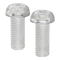 SPC-M6-12-P  NBK Plastic Cross Recessed Pan Head Machine Screws