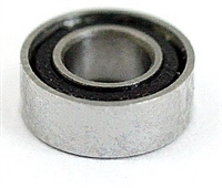 "SR3-2RS ABEC 5 SI3N4 DRY Stainless Steel Ceramic Si3N4 Sealed Bearing 3/16""x1/2""x0.196"" inch"