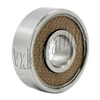 "SR3-2TS EZO Bearing 3/16""x1/2""x0.196"" inch Stainless Steel Sealed Bearings  made in Japan"