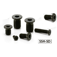 SSH-M3-8-SD NBK Socket Head Cap Screws with Extreme Low & Small Head- Pack of 10-Made in Japan