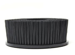 UPHOLSTERY BRUSH With Hook-And-Loop ATTACHMENT -SPINNER BRUSH (FOR Rotary & Random Orbital)