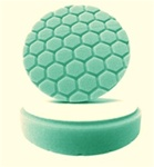 4 Inch Hex-Logic GREEN Heavy Polishing Pad