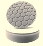 4 Inch Hex-Logic WHITE Light Polishing Pad