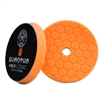 6.5 in Orange Quantum Hex-Logic Buffing Pads