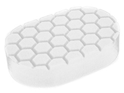 Hex-Logic Medium Cutting Hand Applicator Pad, white (3 x 6 x 1 Inch)