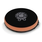 "Chemical Guys BUFX_304_6 - Black Optics Microfiber Orange Cutting Pad (6.5"")"