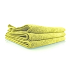 Yellow Workhorse Microfiber Towels