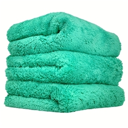 Green Extra Thick Happy Ending Edgeless Towel