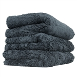 Black Extra Thick Happy Ending Edgeless Towel