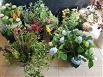 Organic Blooms and Farm Fresh Foliage