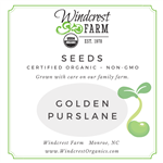 Golden Purslane Seeds