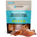 Jumbo Pig Ears for Dogs, 6 ct