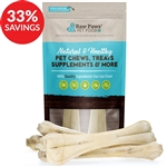 "Compressed Rawhide Bones, 12"" (Bundle Deal)"