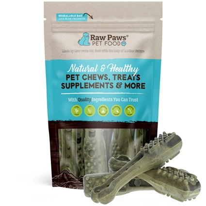 Grain Free Dental Chews for Dogs, 10 ct