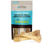 8-11 inch Smoked Beef Shin Bones for Dogs, 3 ct