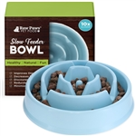 Slow Feeder Bowl for Dogs & Cats - Drop Pattern