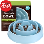 Slow Feeder Bowl for Dogs & Cats - Drop Pattern (Bundle Deal)