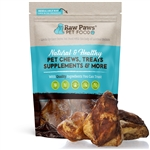 Smoked Beef Knee Cap Bones for Dogs, 5 ct