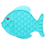 Lick Mat for Cats & Dogs - Fish Shape