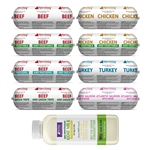 Raw Paws Complete Intro Variety Free Ship Pack - One Time Offer