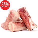 Raw Paws Beef Marrow Bones for Dogs, 4-inch (Bundle Deal)