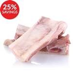 Beef Marrow Bones for Dogs - Split, 4-inch (Bundle Deal)