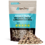 Raw Paws Freeze Dried Beef Liver Treats for Dogs & Cats, 8 oz