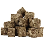 Raw Paws Freeze Dried Green Beef Tripe Chunks for Dogs & Cats, 8 oz